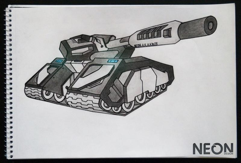 Рисунки танков онлайн карандашом